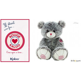 Large Ours gris 38cm - Kaloo Rouge