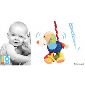 Hochet vibrant Chien - Play-Q