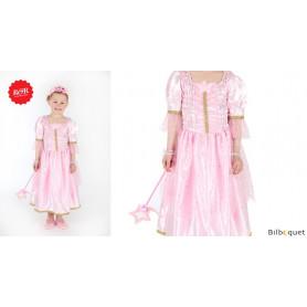 Robe rose Samara - Déguisement fille