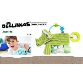 Hochet d'activités Aligatos l'alligator