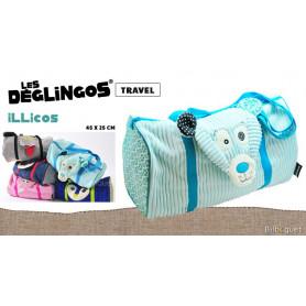 Sac de voyage Illicos l'ours polaire - Déglingos Travel Bags
