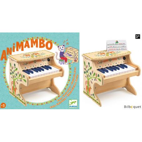 Piano électronique 18 touches - Djeco Animambo