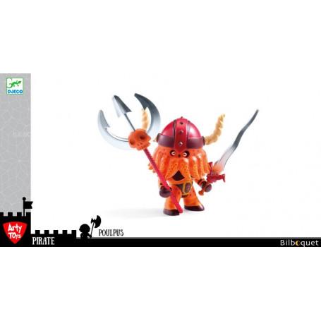 Poulpus - Arty Toys pirates