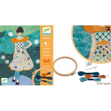 L'art du fil - Broderie Fashion Midnight - Loisir créatif 8-14ans