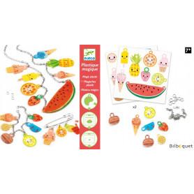 Plastique magique - Gourmandises acidulées - Loisir créatif 7-13ans