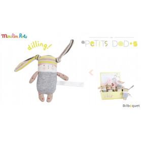 Mini Hochet lapin Nin-Nin - Les Petits Dodos - Moulin Roty