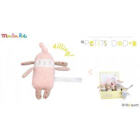 Mini Hochet lapin Lulu - Les Petits Dodos - Moulin Roty