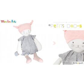 Doudou Poupée Moon le chat 34 cm - Les Petits Dodos - Moulin Roty