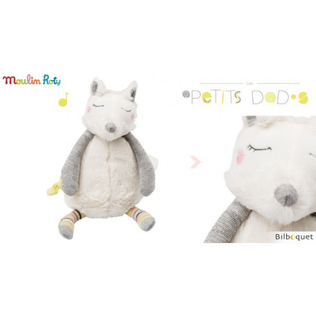 Doudou musical chien Oko - Les Petits Dodos - Moulin Roty
