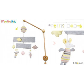 Mobile musical - Les Petits Dodos - Moulin Roty