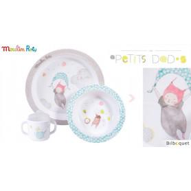 Coffret de vaisselle pour enfants - Les Petits Dodos - Moulin Roty