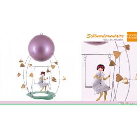 Mobile Schlumélémentaire - Fille à la balançoire