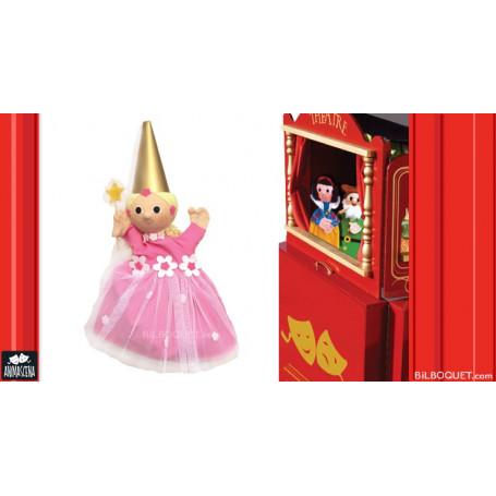 Marionnette Fée rose