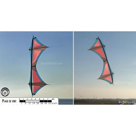 Nemesis - Cerf-volant pilotable 4 lignes (complet)