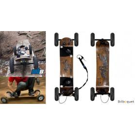 MBS Comp 95X Mountainboard avec frein - Birds