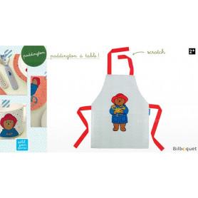 Tablier en toile cirée - Vaisselle pour les enfants - Paddington - Petit Jour Paris