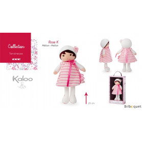 Ma premiere poupée Rose K - 25 cm - Tendresse Kaloo
