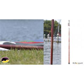 Mât télescopique flexible 579cm pour manches à air
