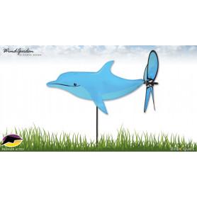 Dauphin 42cm - Petite éolienne pour le jardin