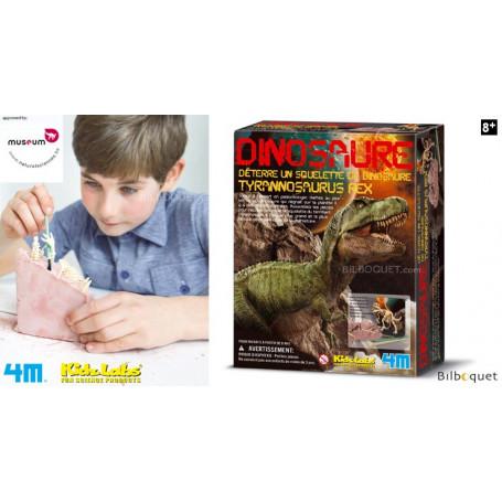 Déterre un squelette de dinosaure - Tyrannosaurus Rex