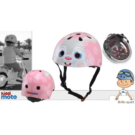 Casque Lapin rose - Taille S (2-5 ans)