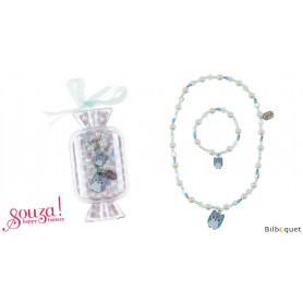 Coffret Collier 40cm  + bracelet 14cm Madina