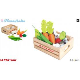 Cagette de légumes - Jouets en bois