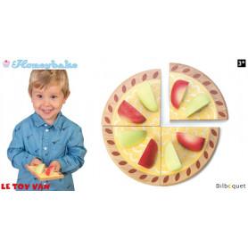 Tarte aux Pommes - Jouet d'imitation en bois