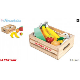 Cagette de fruits - Jouets en bois