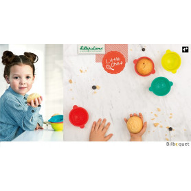 Moules à gâteaux animaux - Lilliputiens Little Chef