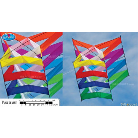 Altitude Box Kite - Cerf-volant cellulaire
