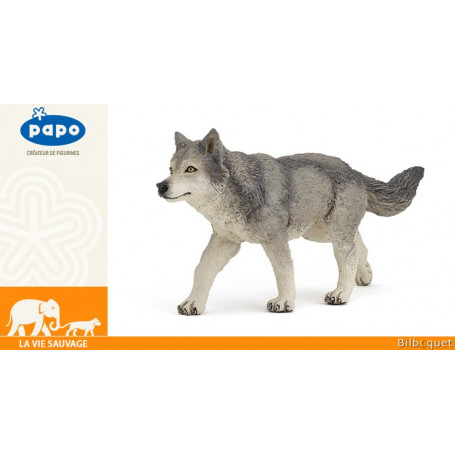 Louve grise - Figurine la vie sauvage