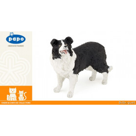 Chien Border collie - Figurine jouet