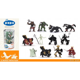 Mini Plus Tub's figurines fantastiques - 12 mini figurines