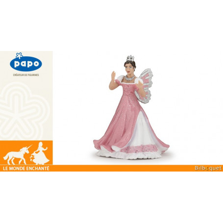 Reine des elfes rose - Figurine en plastique