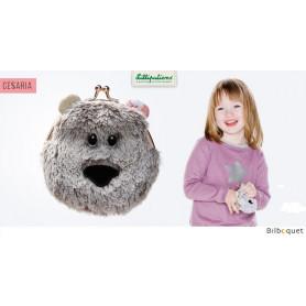 Porte-monnaie pour enfants Césaria l'oursonne