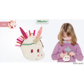 Porte-monnaie pour enfants Louise la licorne
