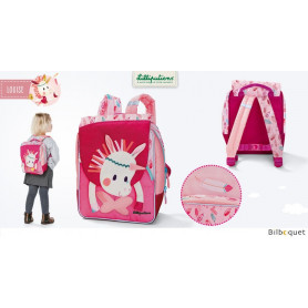 Petit cartable Louise la licorne