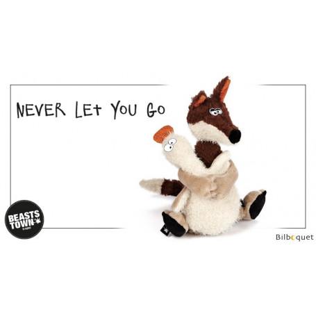 Never Let You Go (peluche renard et canard 21cm) - Sigikid Beasts