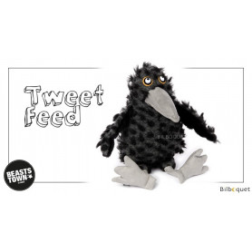 Tweed Feet (peluche corbeau 33cm) - Sigikid Beasts