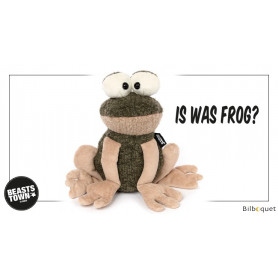 I was Frog? (peluche grenouille 18cm) - Sigikid Beasts