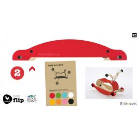Wishbone Mini-Flip - Base - Rouge