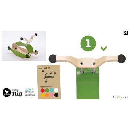 Wishbone Mini-Flip - Top - Vert