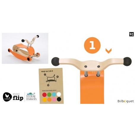 Wishbone Mini-Flip - Top - Orange