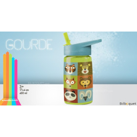 Gourde Tritan Animalia (450 ml)