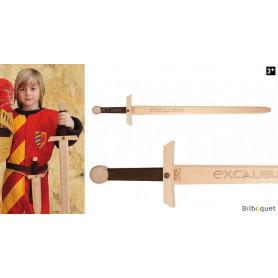Épée en bois à deux mains Excalibur 102cm
