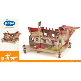 Le Fort Pirate - Environnement de jeu pour figurines Papo