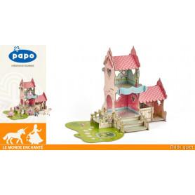 Château princesse - Environnement de jeu pour figurines Papo