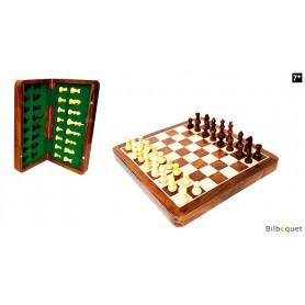 Jeu d'échecs pliable 30x30cm (magnétique)