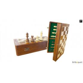 Jeu d'échecs pliable 35x35cm